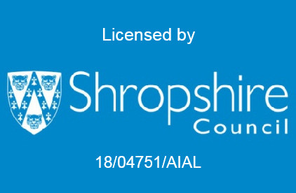 Shropshire Council Licensed